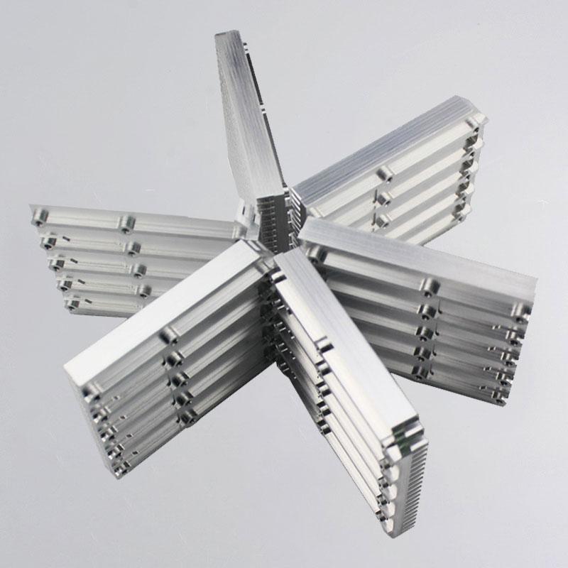 CNC з механічнай апрацоўкай алюмінія-6061-дэталі