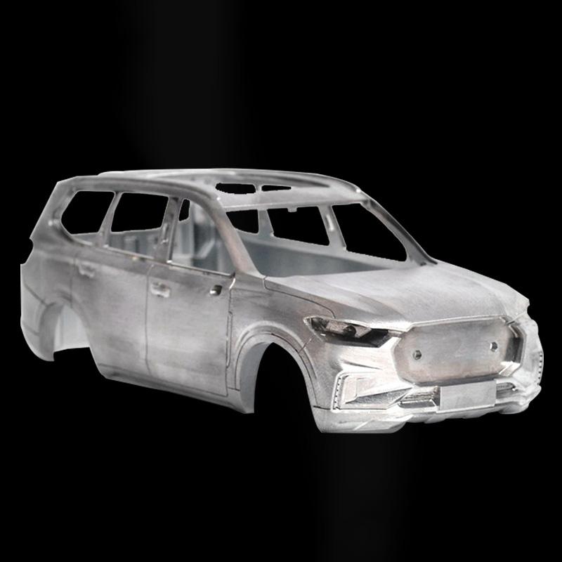 მანქანის მოდელის პროტოტიპის ნაწილები