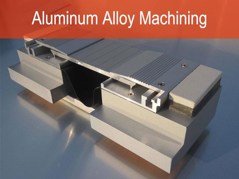 Aluminium Ingxubevange Machining