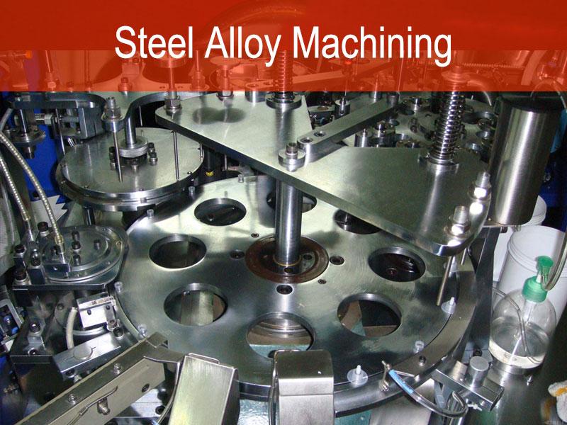 Steel Ingxubevange Machining