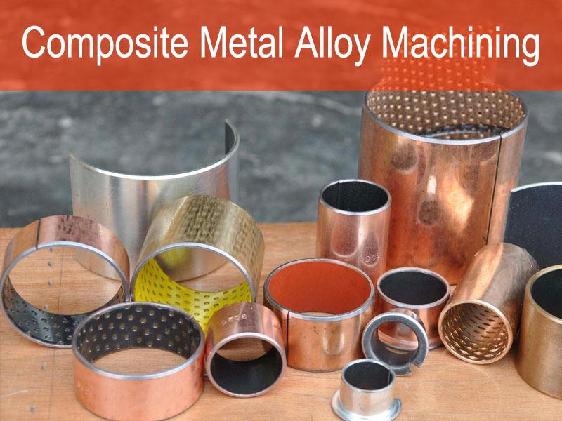 Composite Metal Ingxubevange Machining