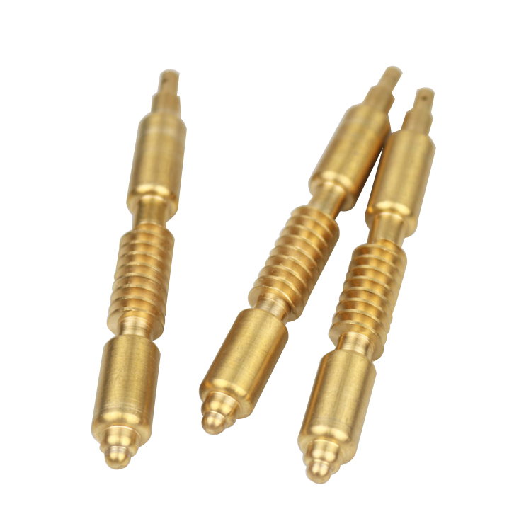 brass shaft machining