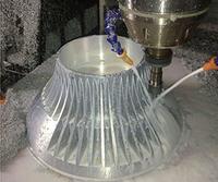 I-Real Shot Cnc Machining I-Bulb Lamp Base Ukulingisa